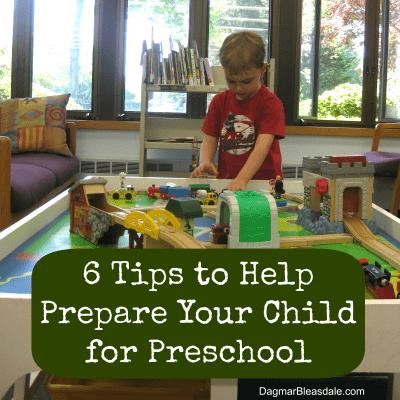 tips to prepare child for preschool