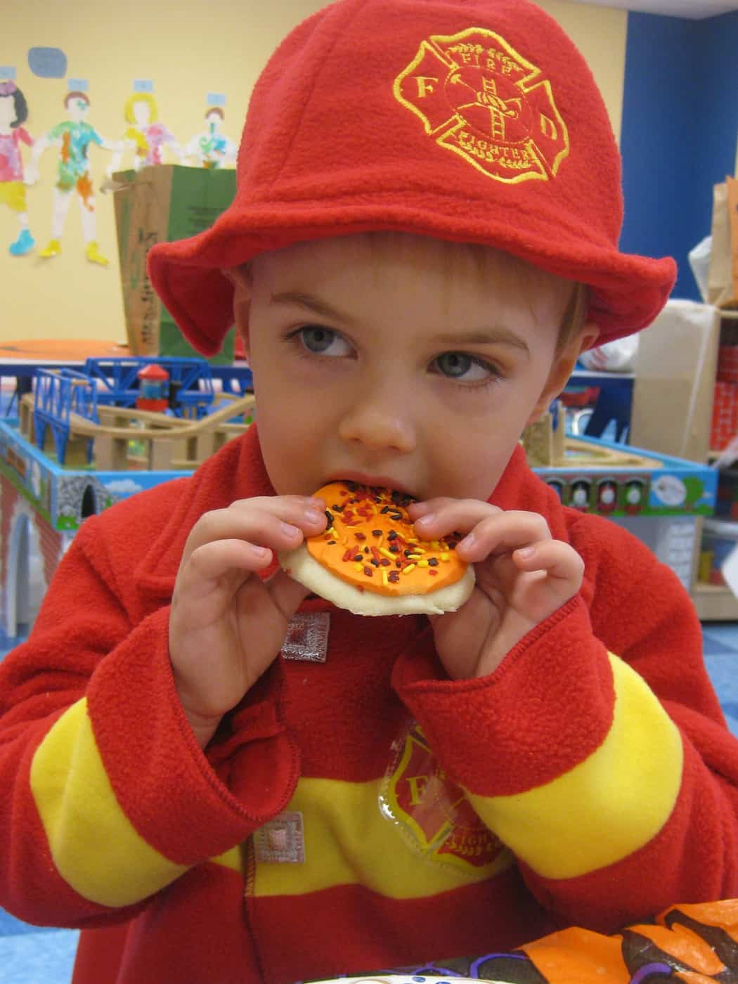 Happy Halloween From a Little Fireman!