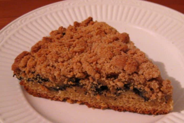 Recipe: German Streusel Poppy Seed Cake — Mohnkuchen
