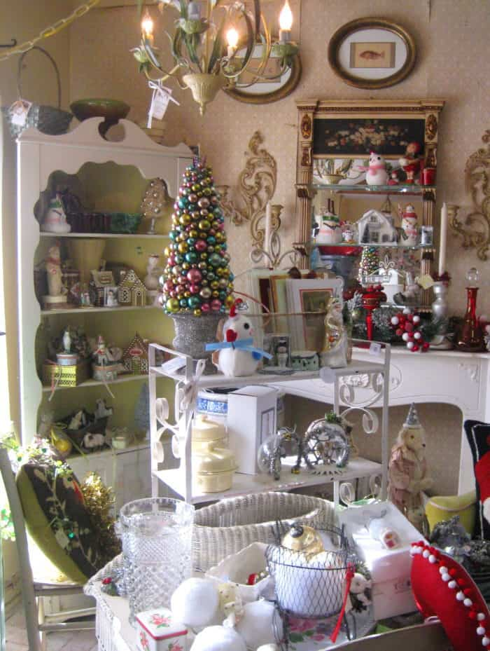 Family Fun at the Gossett's Market and Cottage Antiques