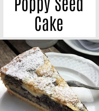 Poppy Seed Cake Recipe – German Streusel Mohnkuchen