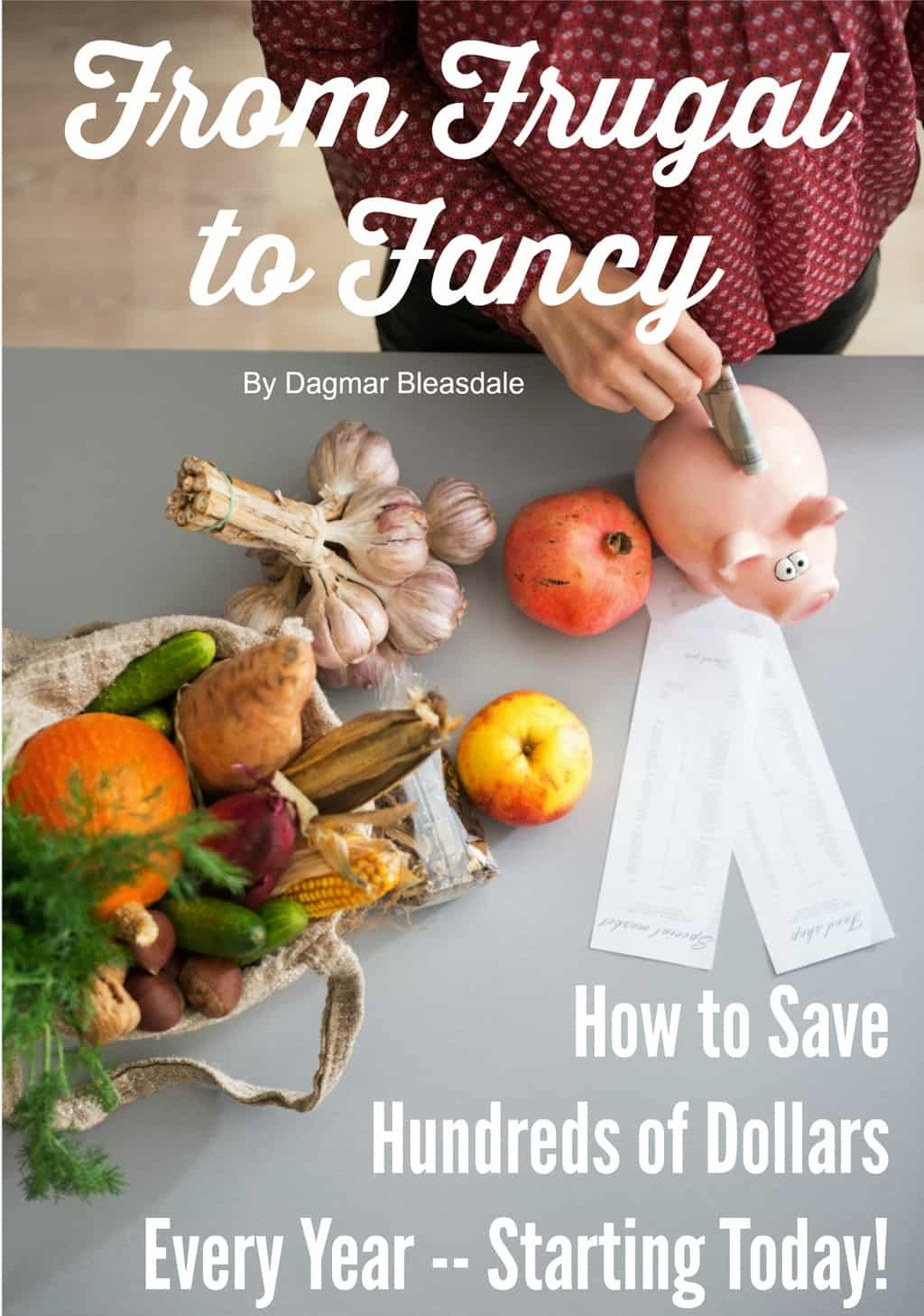 ebook From Frugal to Fancy ebook to save money by DagmarBleasdale..com