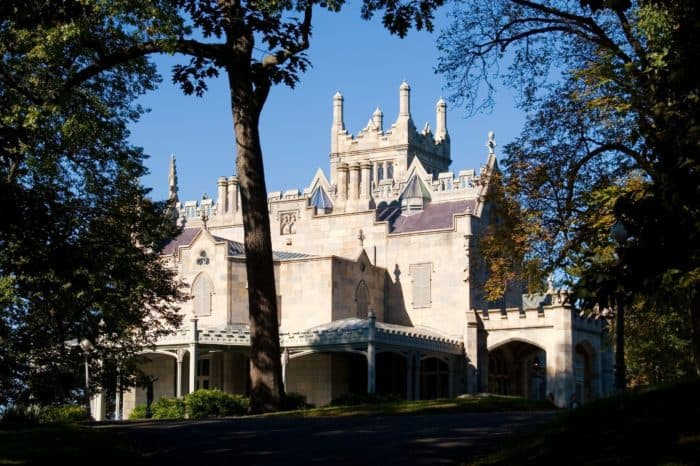 Lyndhurst Castle wedding, Hudson River mansion, NY