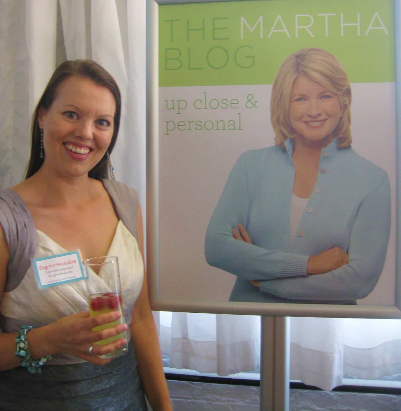 Martha Stewart's Bloggers' Night Out! event, New York
