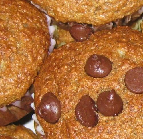 easy, healthy zucchini muffins