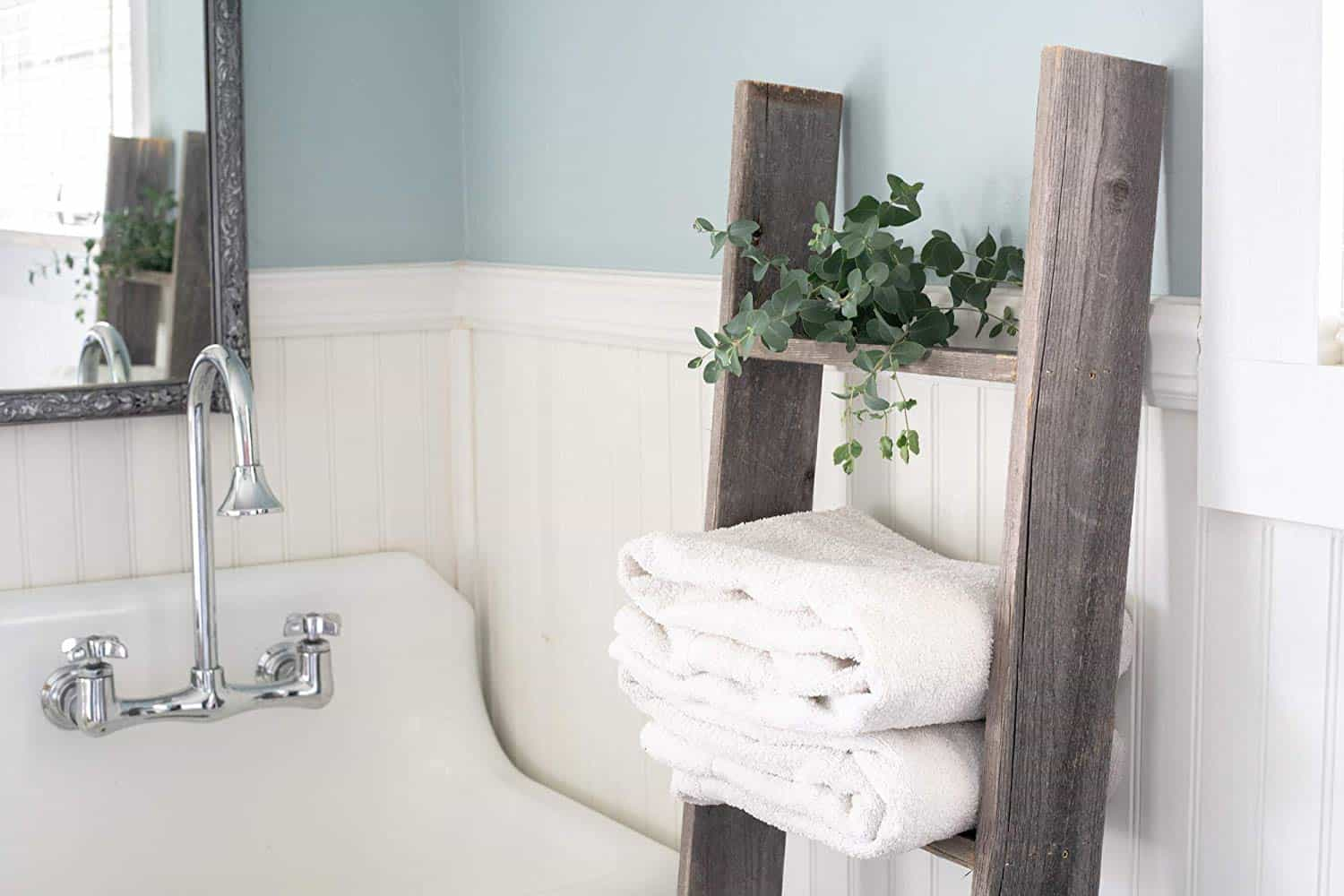 towel ladder for bathroom