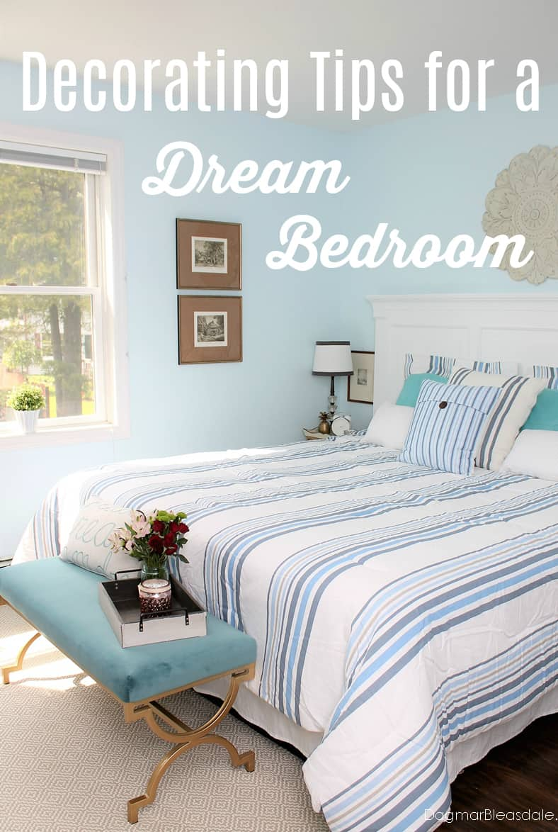 dream bedroom decorating tips