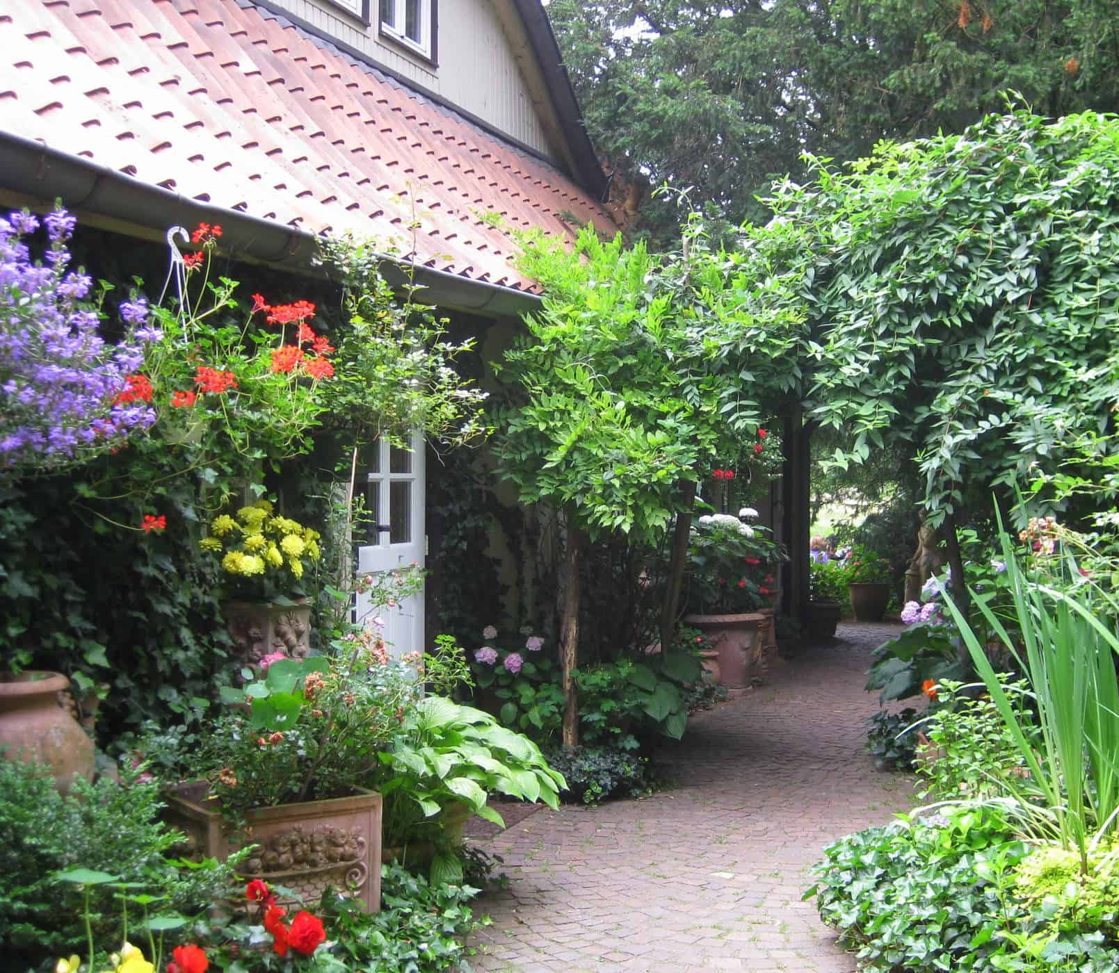 Cafe im Rilke-Haus, Fischerhude, Germany