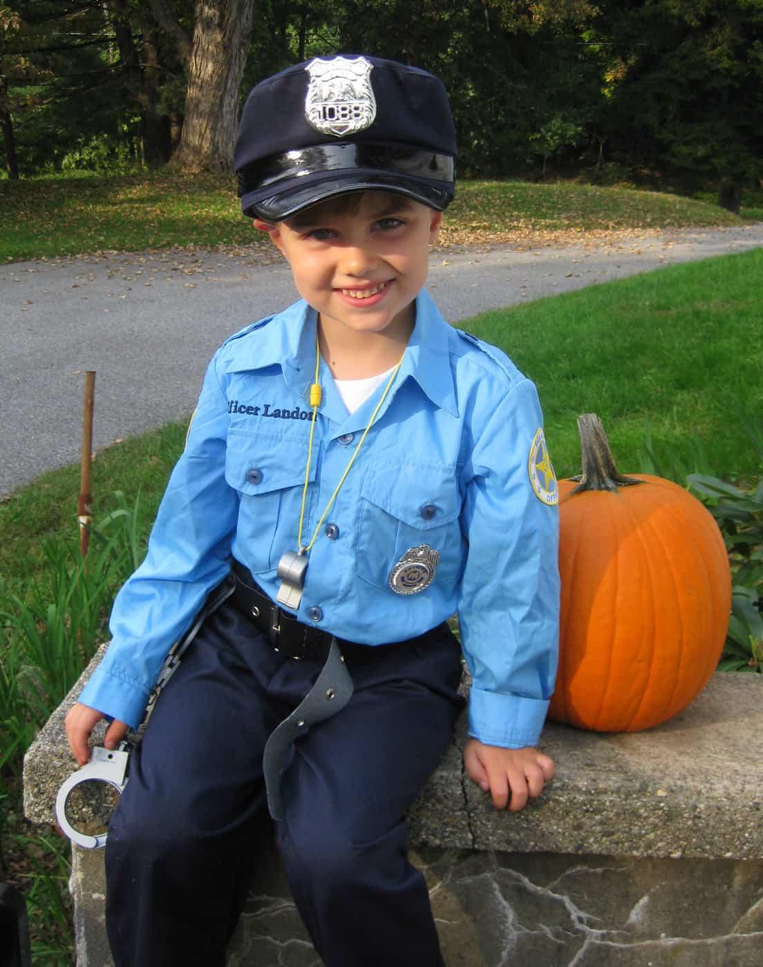 Landon's Halloween Costumes for This Year: Meet Officer Landon