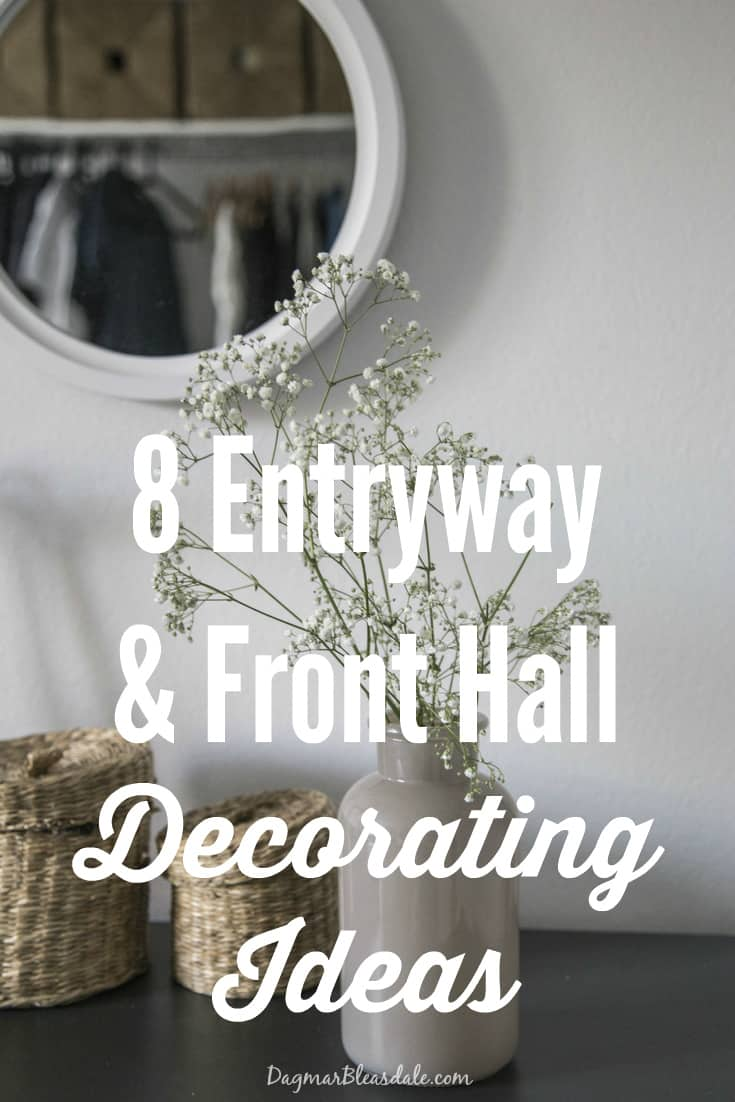 Entryway and Front Hall Decorating Ideas