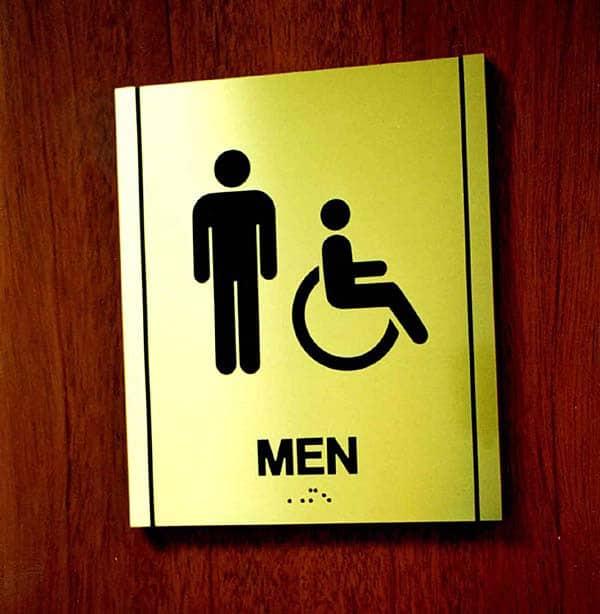 Not Me! Monday — Stuck in a Men's Room