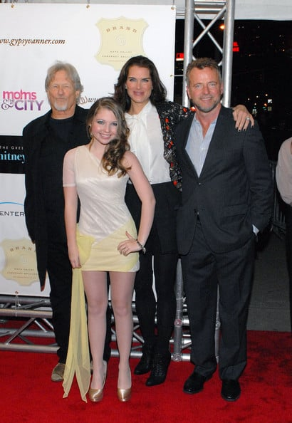 Brooke Shields and Aidan Quinn at The Greening of Whitney Brown premiere