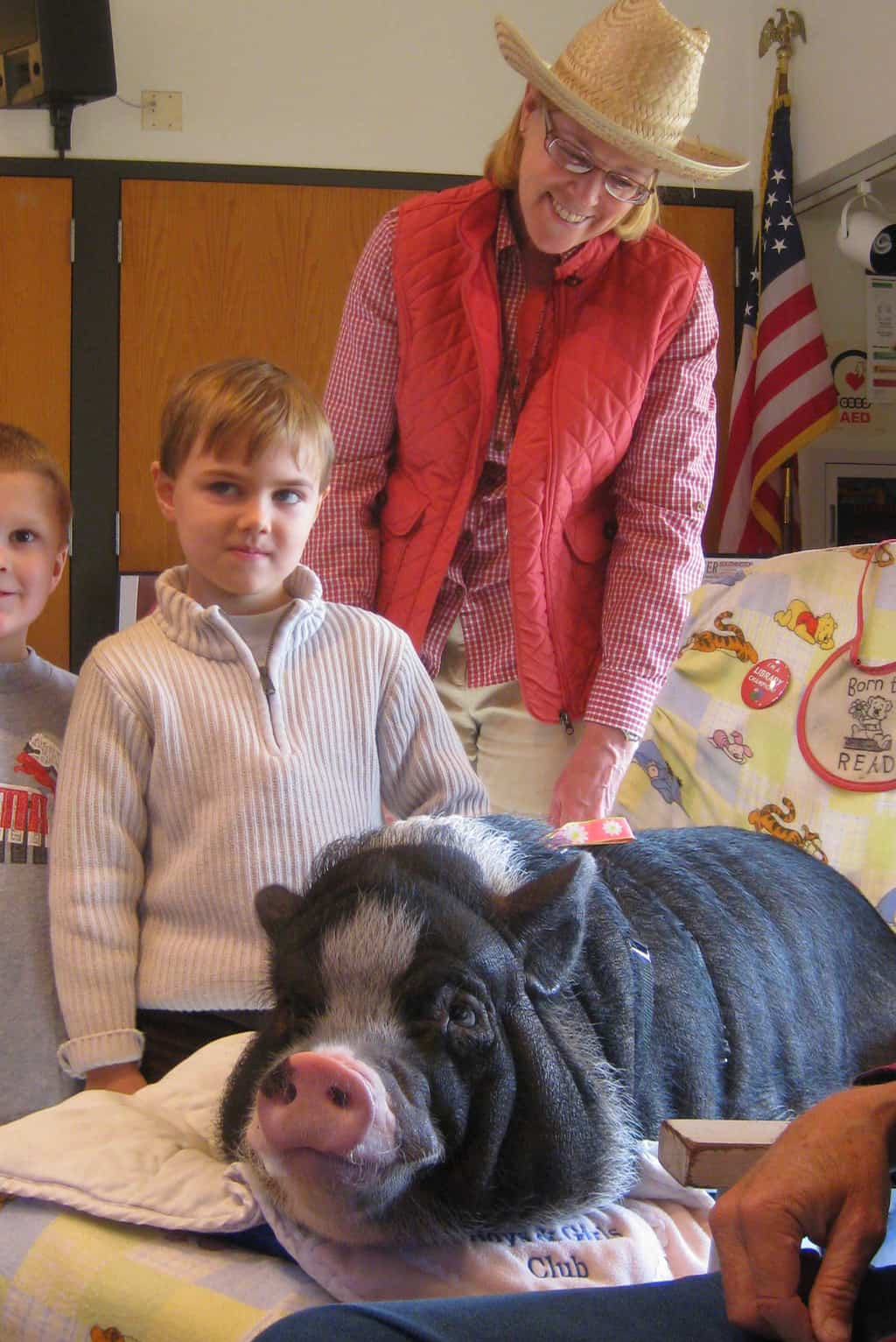 Chicken, Goats, and Co-Sleeping Pigs