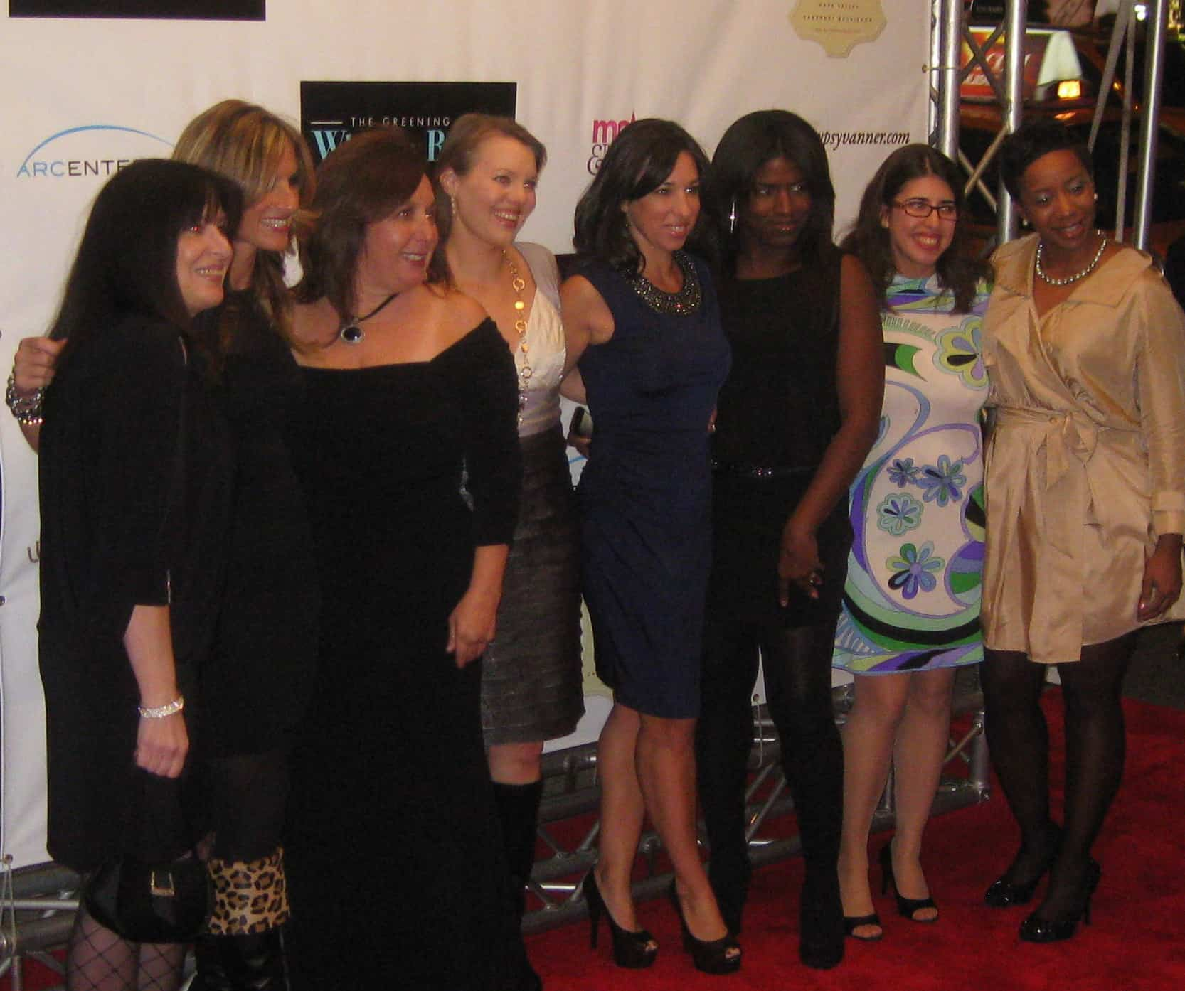 Wordless Wednesday — My First Time On the Red Carpet