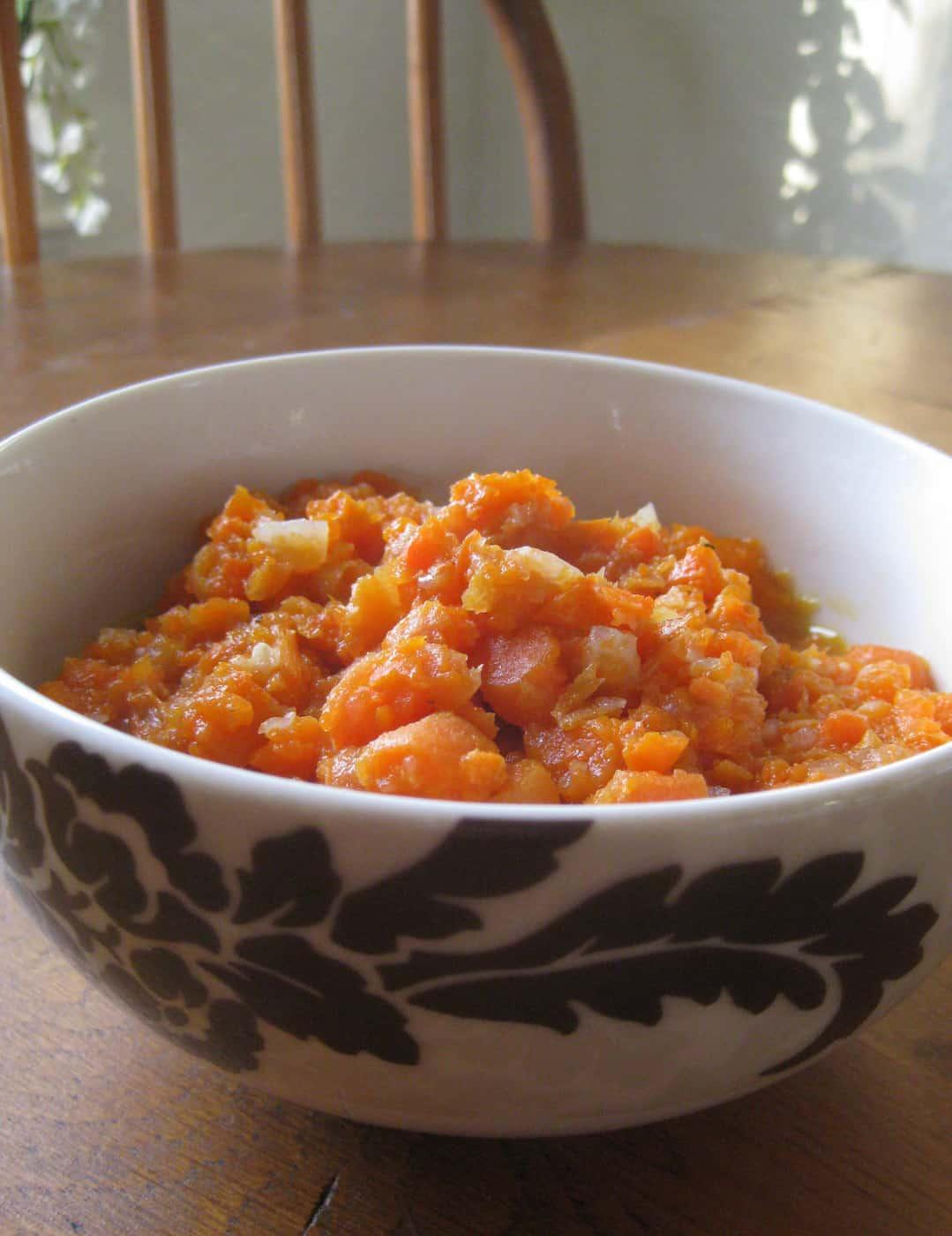 Chunky Carrot Soup