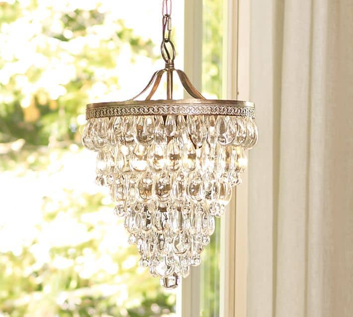 How to Find The Perfect Chandelier, Clarissa glass chandelier