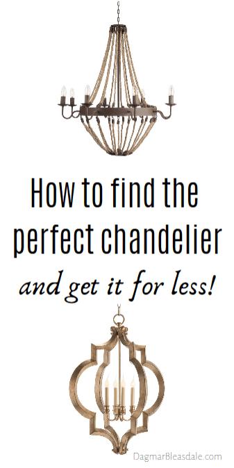 perfect chandelier
