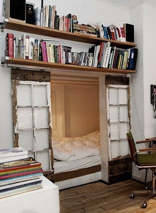 14 clever ideas to store books, DagmarBleasdale.com