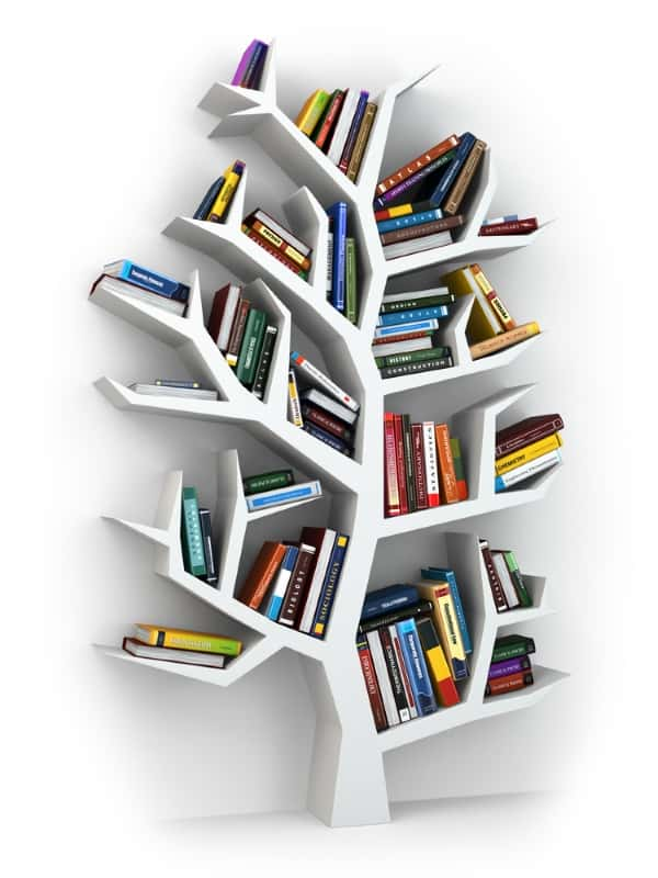 tree bookshelf storage
