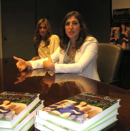 Beyond the sling, Mayim Bialik, attachment parenting book