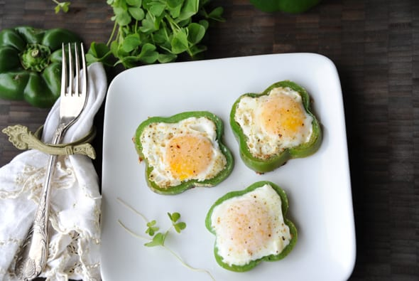 cooking for St. Patrick's Day: Shamrock Fried Egg