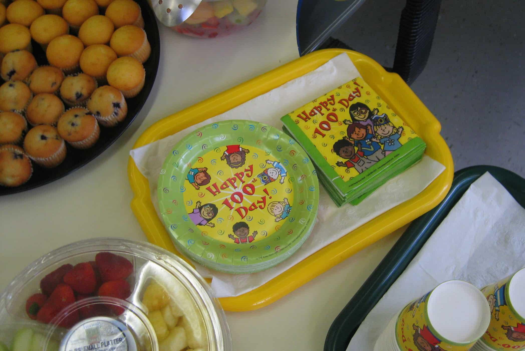 Wordless Wednesday — 100 Days of Kindergarten