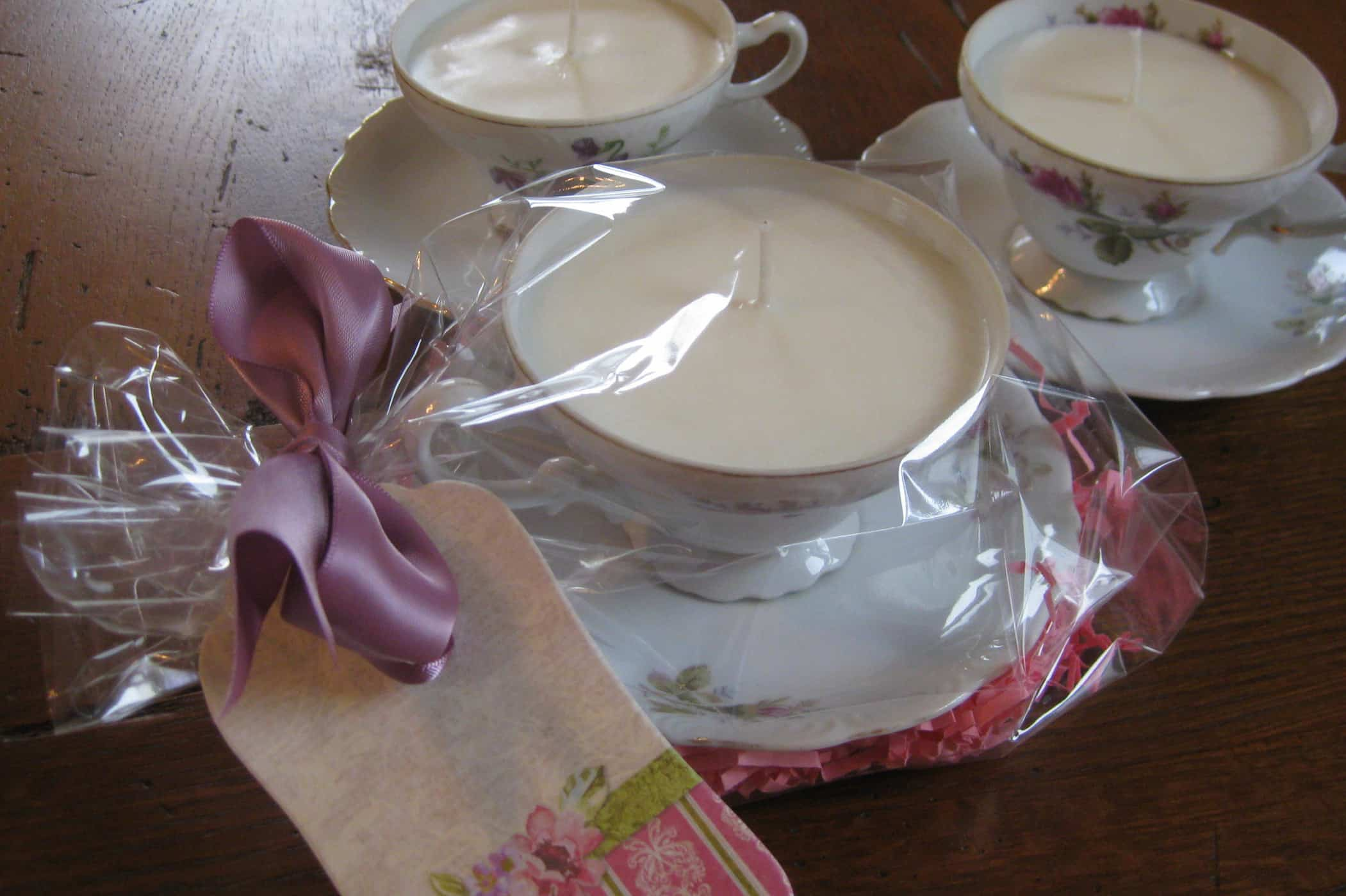 I Made Teacup Candles Yesterday…