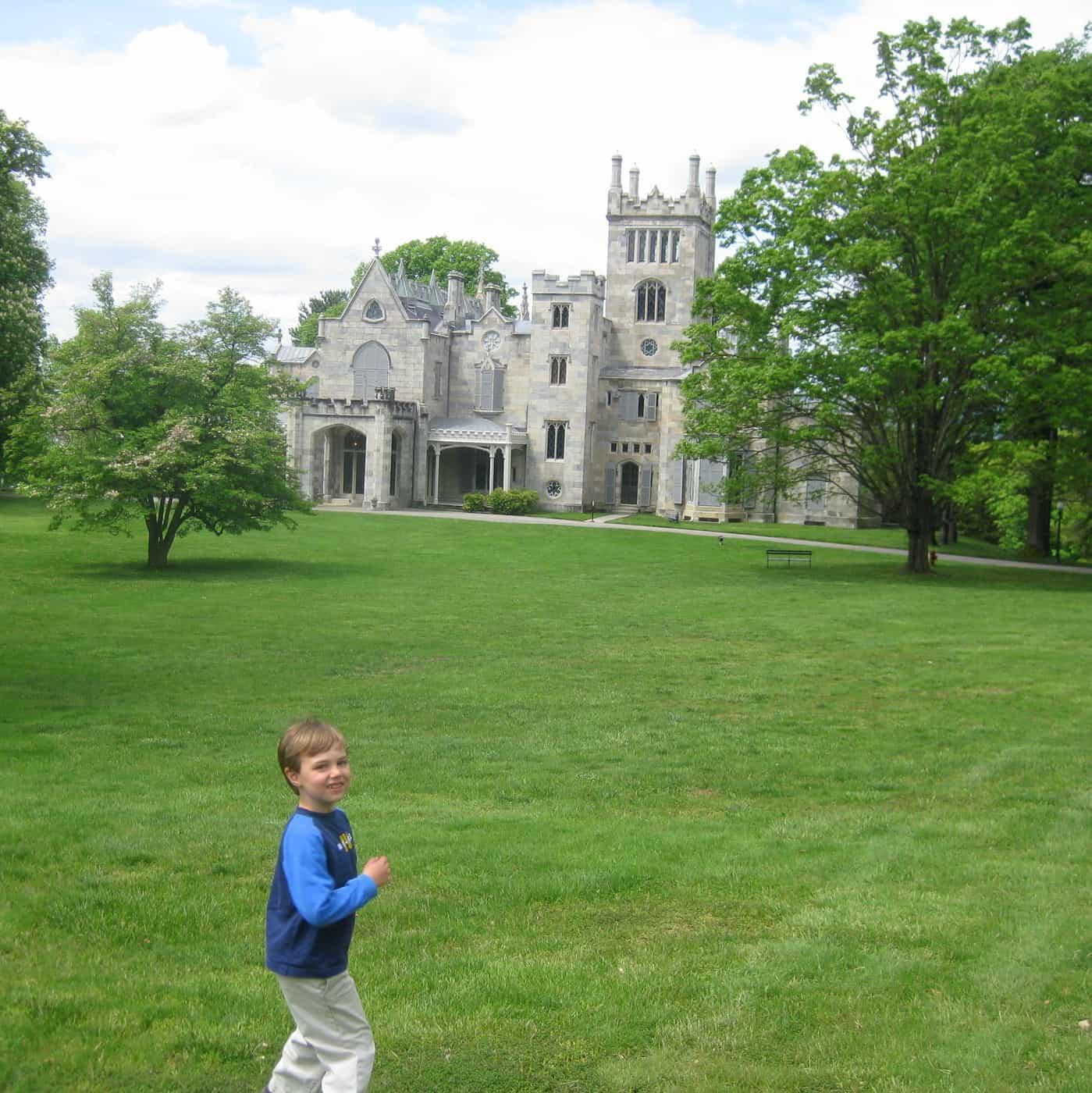 Lyndhurst Castle In Tarrytown, NY