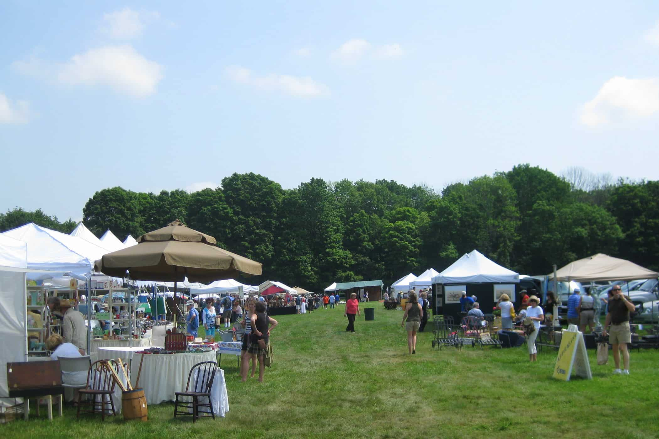 Weekend Yard Sale Junking and Lasdon Park's Antique Show