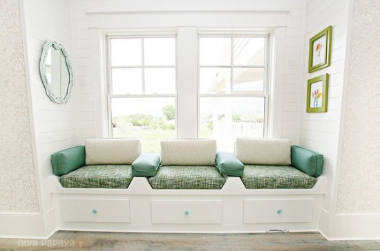window seat design ideas, DagmarBleasdale.com
