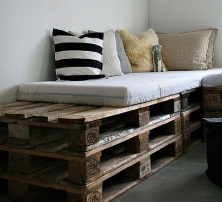 DIY Beds, Sofas, and More You Can Make Out of Pallets