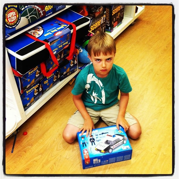 Playmobil Drama and Shopping Carts