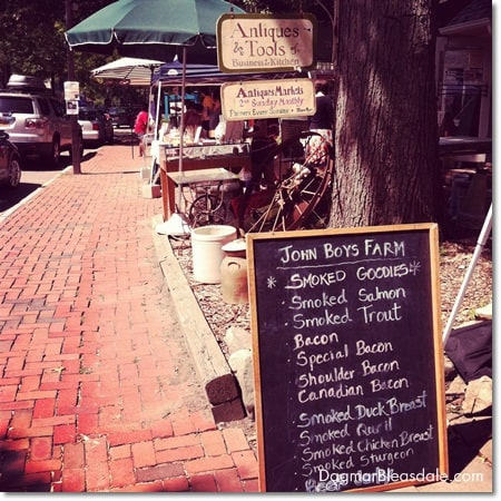 Pound Ridge: Farmer's Market, Antiques, and Yummy Cheese