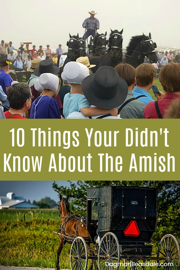 The Amish - things you didn't know about them, DagmarBleasdale.com
