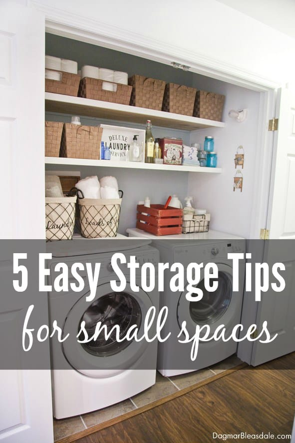 5 Easy Decorating and Storage Tips for Small Spaces