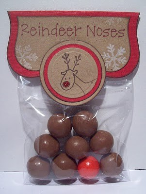 DIY Christmas Reindeer Noses treat