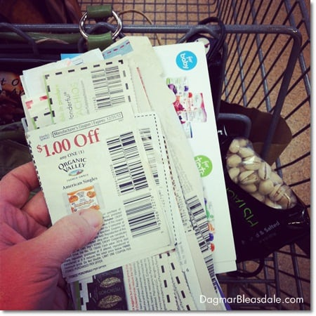 extreme couponing for organic food