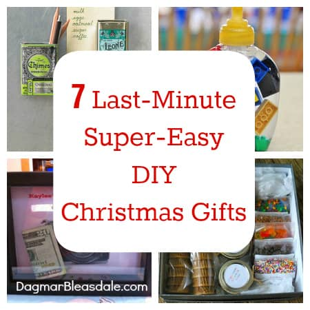 DIY Christmas gifts, DagmarBleasdale.com: 7 Last-Minute, Easy DIY Gifts