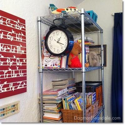 Organizing Landon's Playroom With a Trinity Shelving Rack