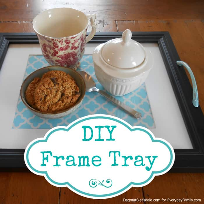 DIY Project: Make Your Own DIY Frame Tray