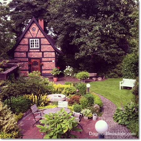 fairytale garden, German garden with Spieker
