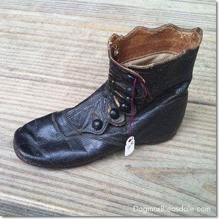 vintage baby shoe