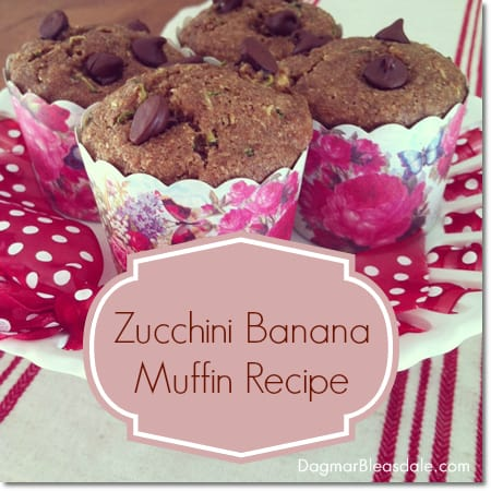 zucchini banana muffin recipe