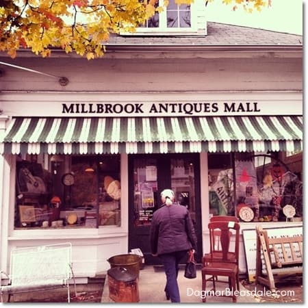 Road Trip to Millbrook for Antiques and Berry Cobbler