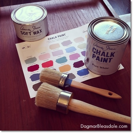 Painting Our TV Cart With Annie Sloan Chalk Paint