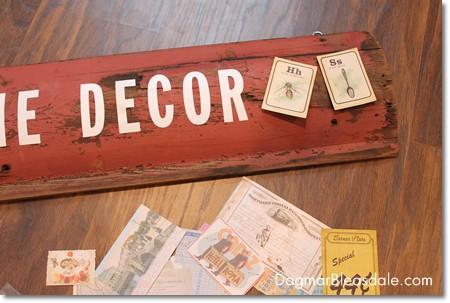 DIY signage