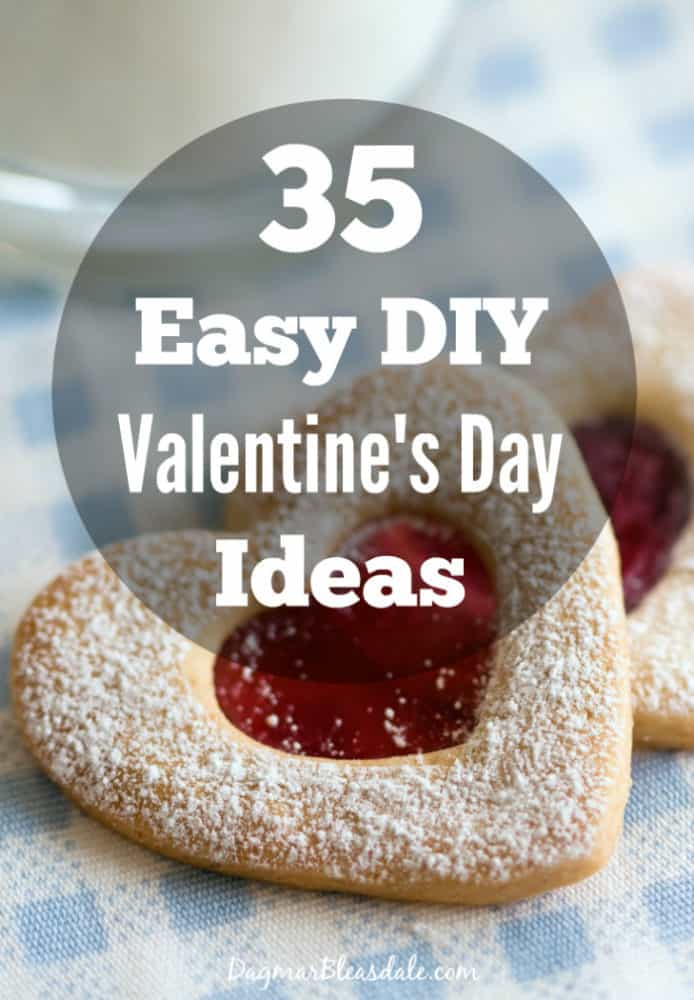 35 DIY Valentine's Day ideas, crafts and recipes and DIY ideas