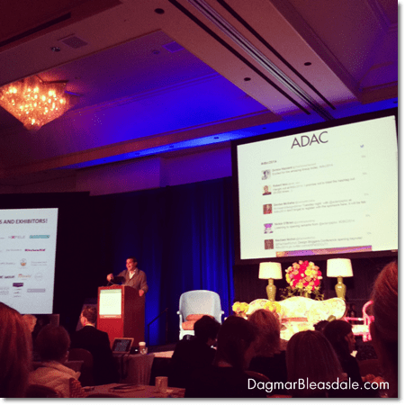 Adam Japko at the Design Bloggers Conference 2014