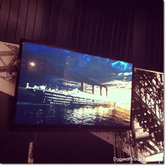 Titanic exhibit at the Mystic Aquarium