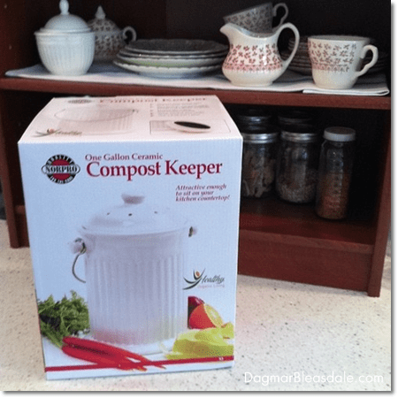 compost keeper for the kitchen